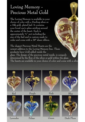 Cremation Pendants