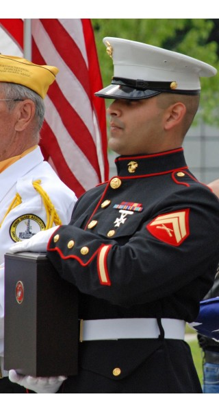 Veterans Cremation with Memorial Service