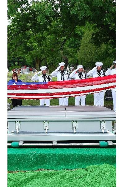 Veterans Military Casket Funeral