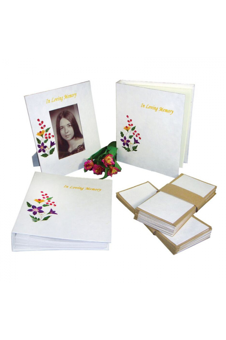 Floral Bio Stationary Items