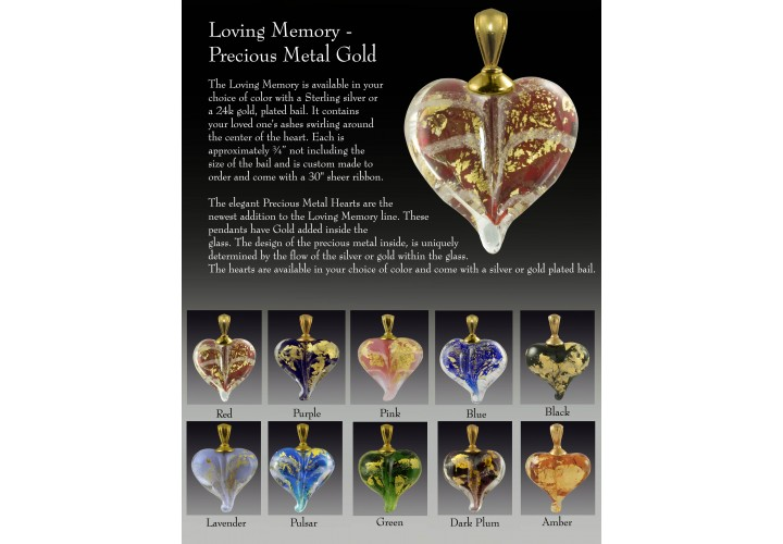 Loving Memory - Precious Metal Gold