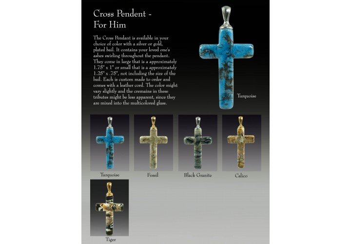 Cross Pendent - For Him
