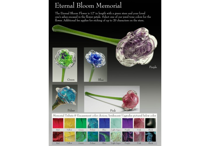 Eternal Bloom Memorial Iridescent